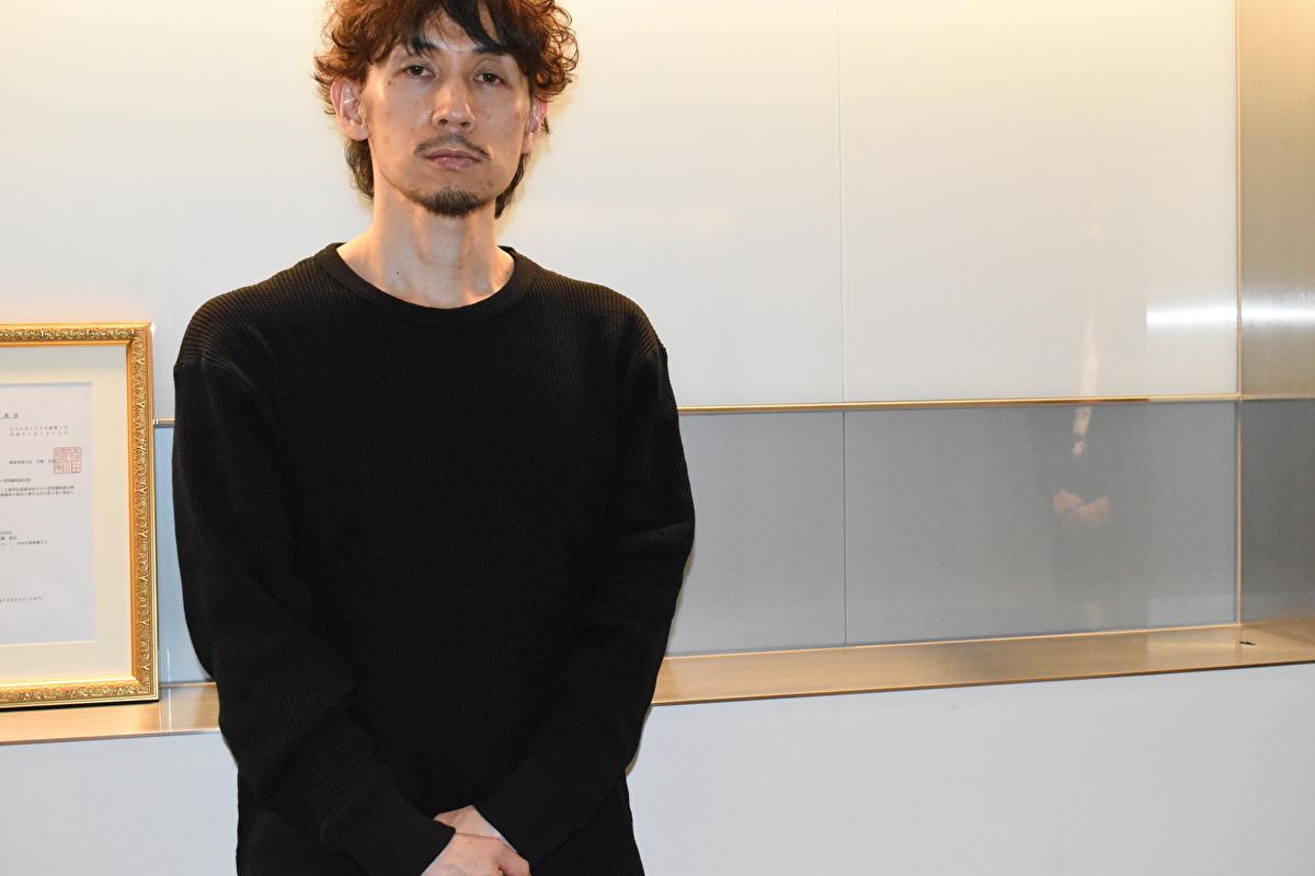 勝又氏と弊社担当長谷川